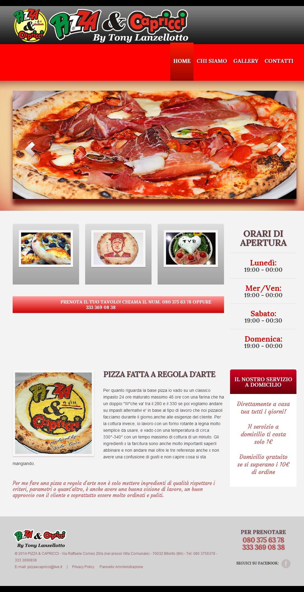 Pizza & Capricci