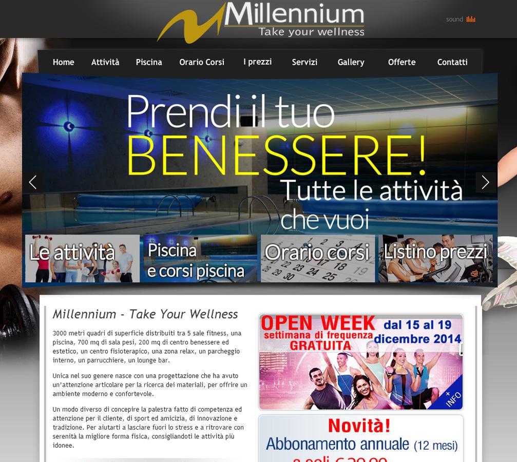 millennium-evidenza Italweb - Portfolio clienti
