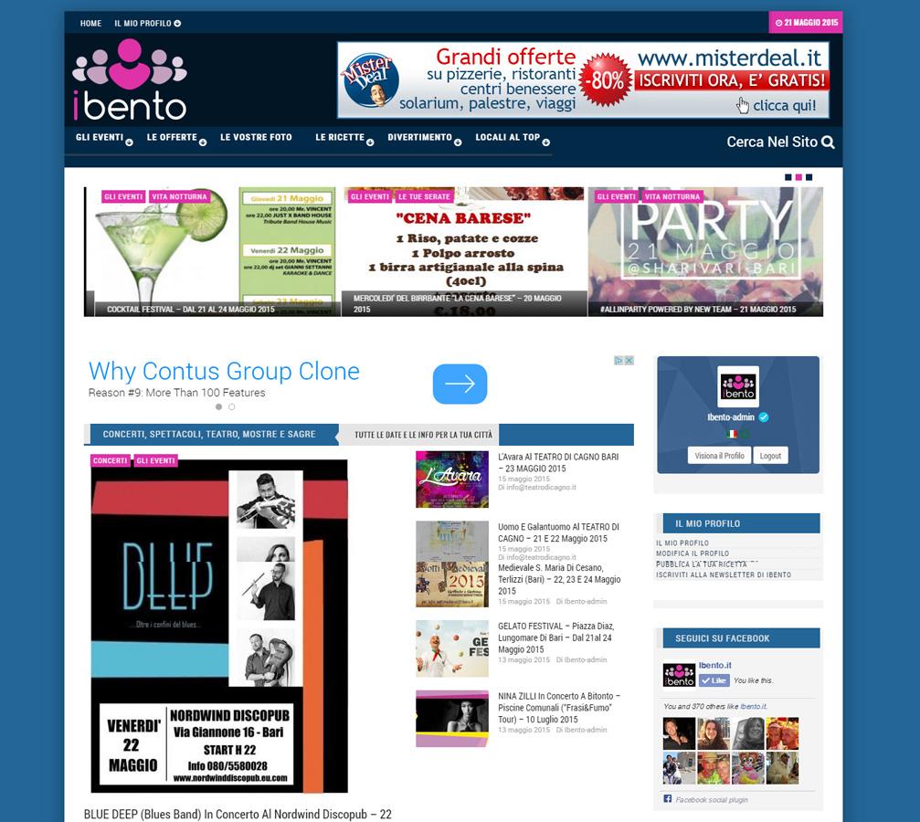 ibento-evidenza Italweb - Portfolio clienti