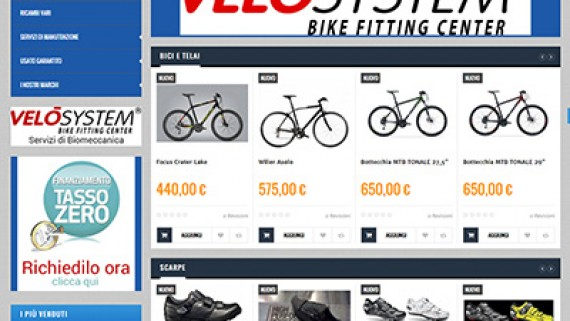 ilvelocipede-prima-570x321 E-commerce La Coccinelle Shop