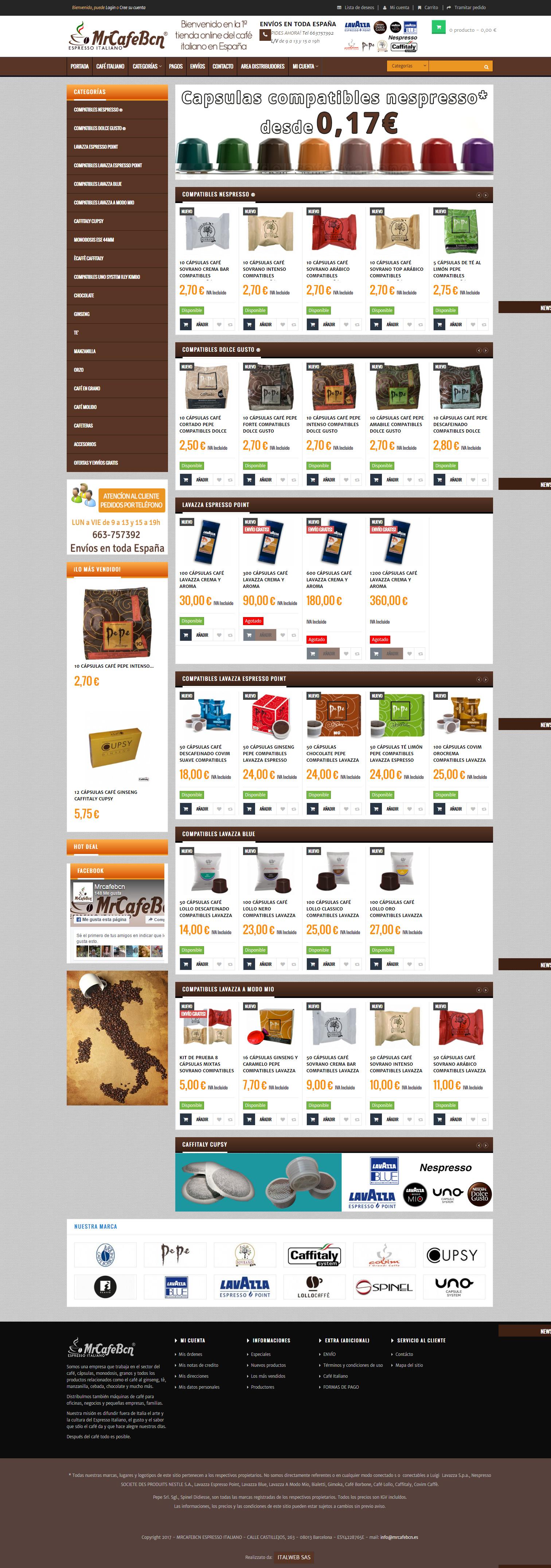 Mr Cafè Bcn - E-commerce