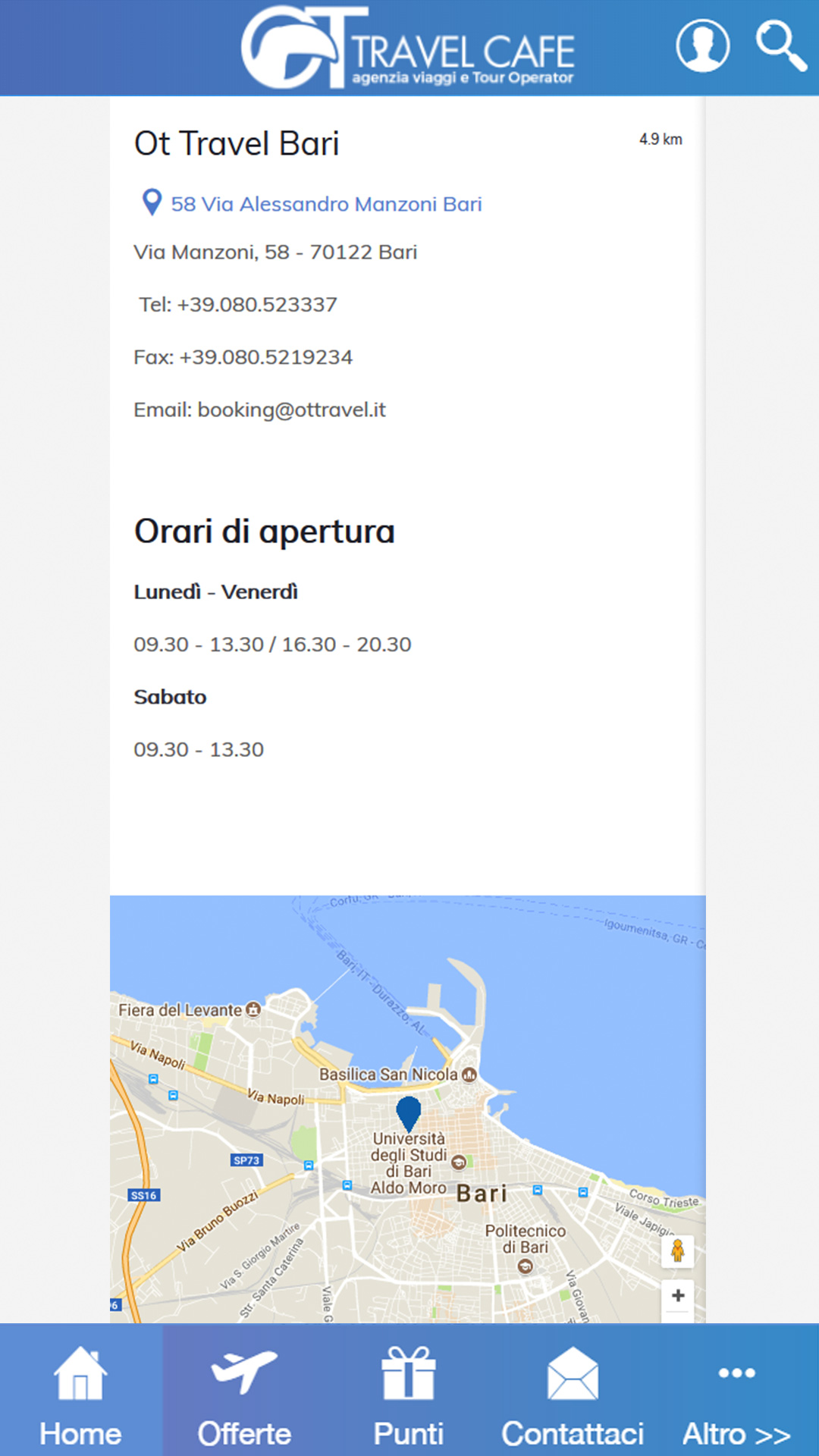 screenshot-vari5 OT Travel - Mobile App